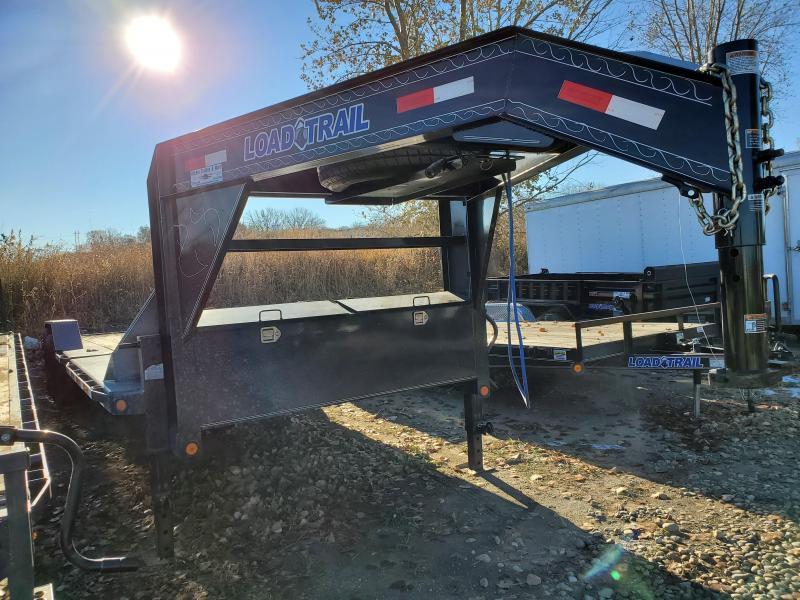 2020 Load Trail 83x24 Tandem Axle Gooseneck Tilt-N-Go Equipment Trailer