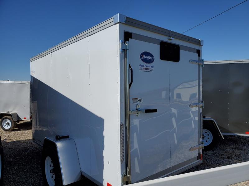 2020 United Trailers 5x10 Single Axle Enclosed Cargo Trailer
