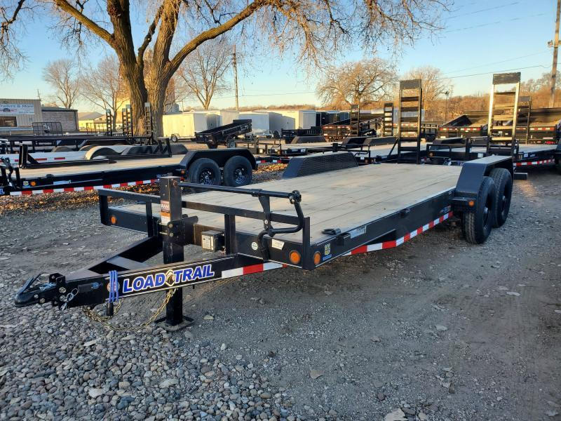 2021 Load Trail 83x20 Tandem Axle Carhauler Equipment Trailer