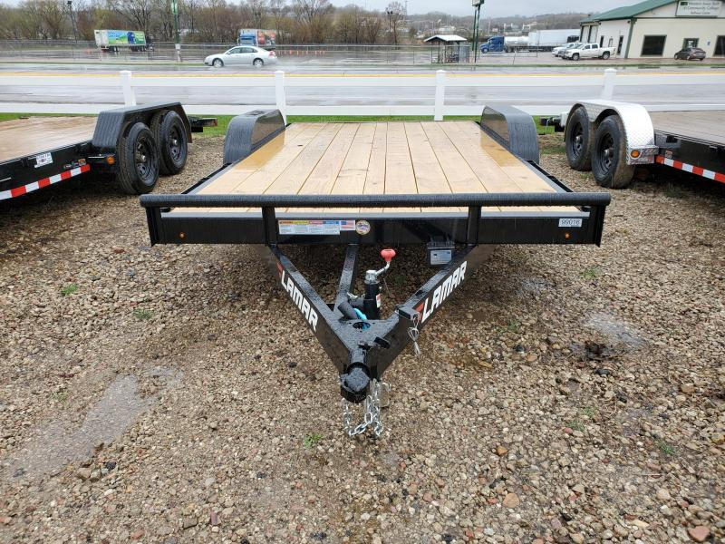 2021 Lamar Trailers 83X16 LAMAR TANDEM AXLE Equipment Trailer