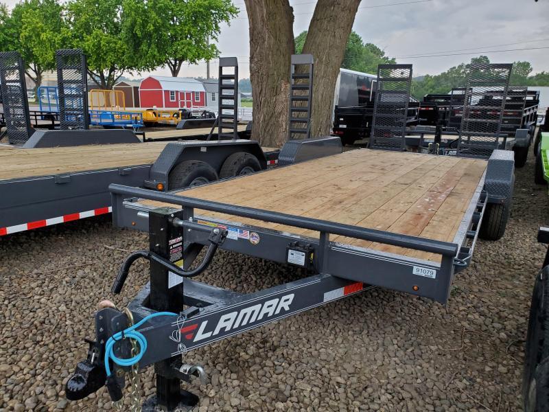 2020 Lamar Trailers 83x20 Tandem Axle Carhauler Equipment Trailer