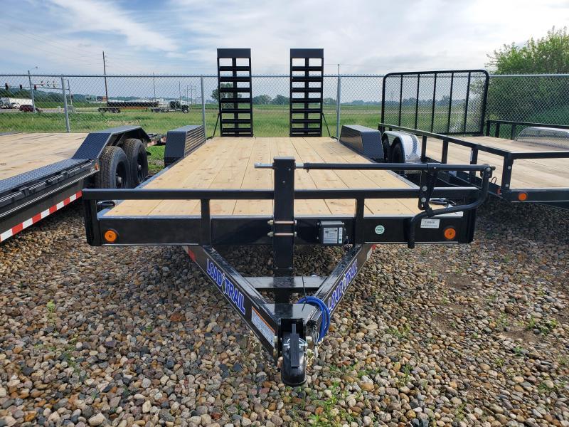 "2021 Load Trail 83""X20' TANDEM AXLE Equipment Trailer"