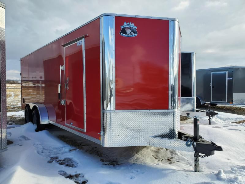 2021 Bighorn 7x20 Tandem Axle Enclosed Cargo Trailer