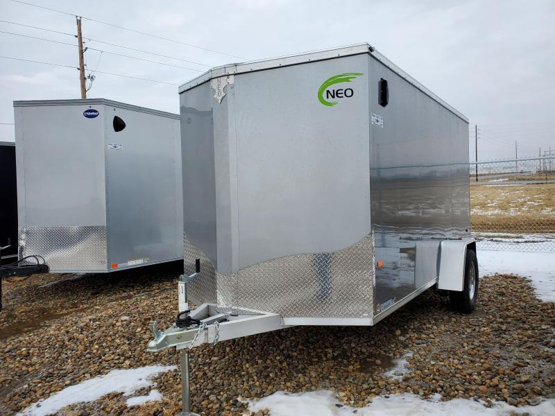 2021 NEO Trailers 6x12 single axle Enclosed Cargo Trailer