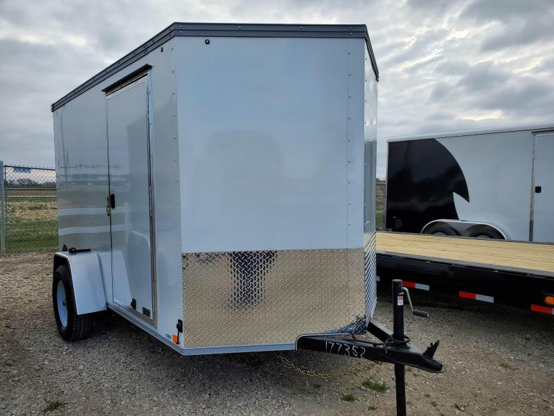 2021 United Trailers 6x10 SIngle Axle Enclosed Cargo Trailer