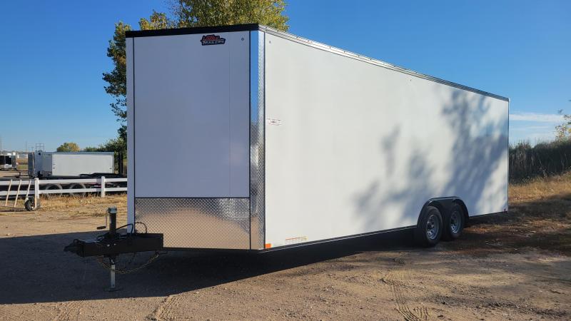 2022 United Trailers 8.5x24 Tandem Axle Enclosed Cargo Trailer