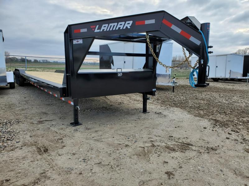 2021 Lamar Trailers 102X40 LAMAR TRIPLE AXLE CARHAULER Equipment Trailer