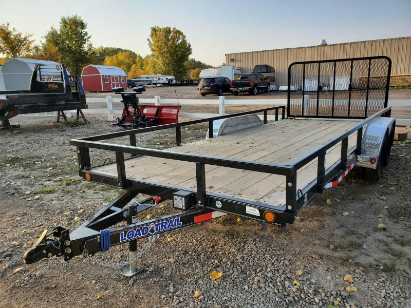 "2021 Load Trail 83"" x 18' Tandem Axle Utility Trailer"