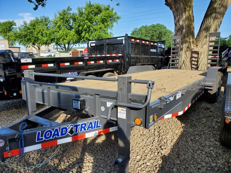 2020 Load Trail 83x24 Tandem Axle Carhauler Equipment Trailer