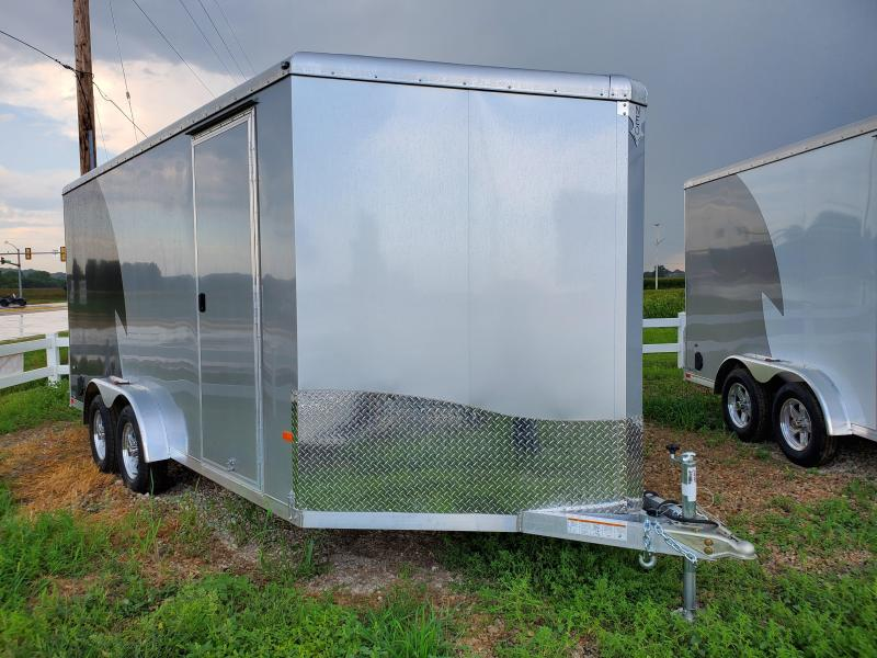 2021 NEO Trailers 7.5x16 Tandem Axle Aluminum Enclosed Cargo Trailer