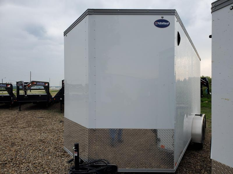 2021 United Trailers 7x16 Tandem Axle Enclosed Cargo Trailer