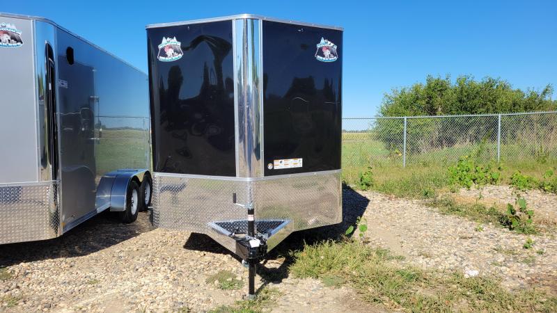 2022 Bighorn 7x12 Tandem Axle Enclosed Cargo Trailer