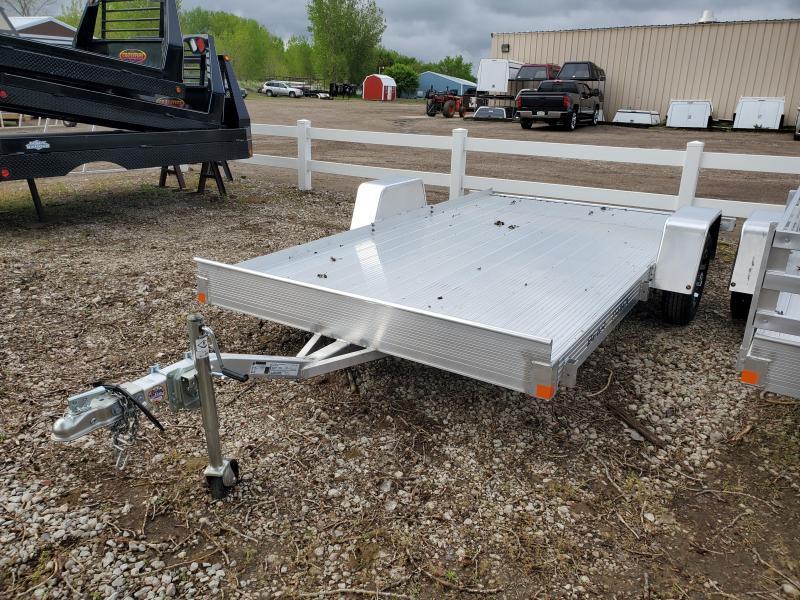 2020 Bear Track 76x10 Single Axle Aluminum Utility Trailer