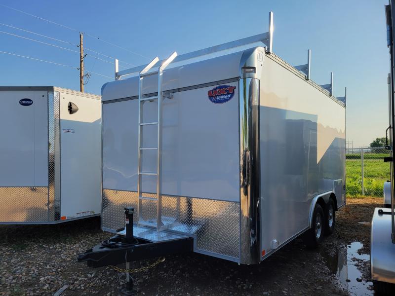 2022 United Trailers 8.5X16 TANDEM AXLE Enclosed Cargo Trailer