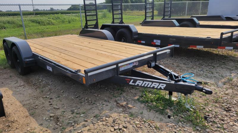 "2021 Lamar Trailers 83""X16' ECONO Equipment Trailer"