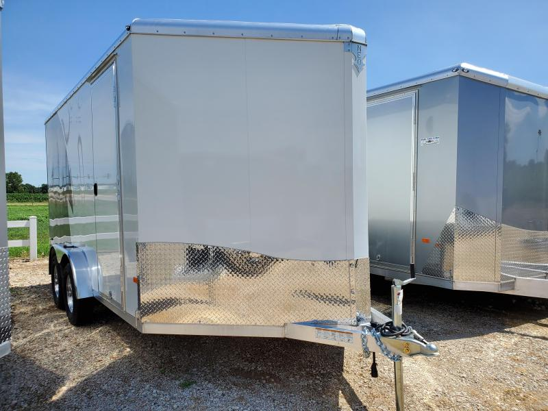 2021 NEO Trailers 7.5x14 Tandem Axle Aluminum Enclosed Cargo Trailer
