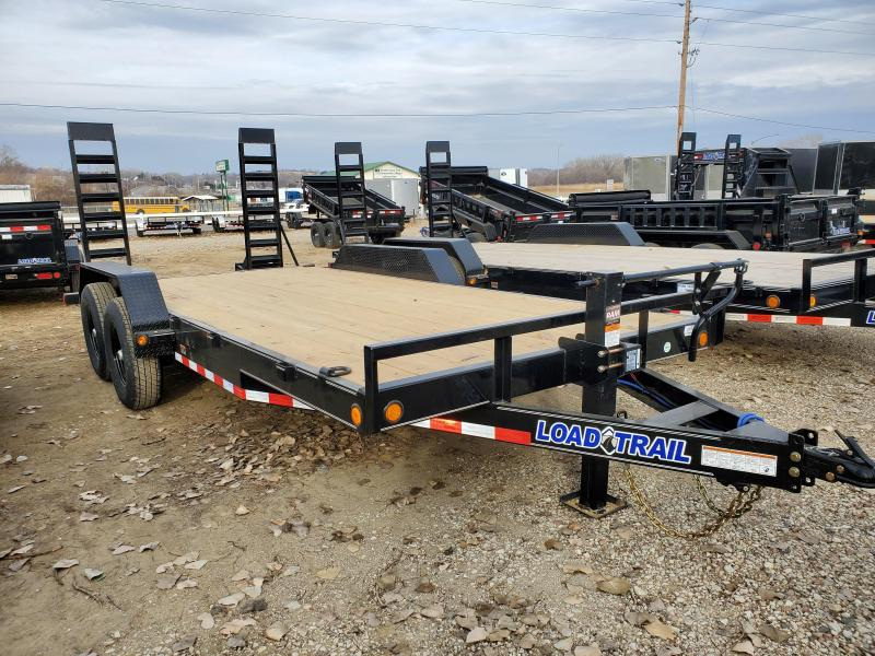 2021 Load Trail 83x18 Tandem Axle Carhauler Equipment Trailer