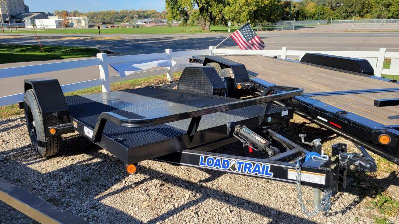 2022 Load Trail 77x12 Single Axle Scissor Hauler Equipment Trailer