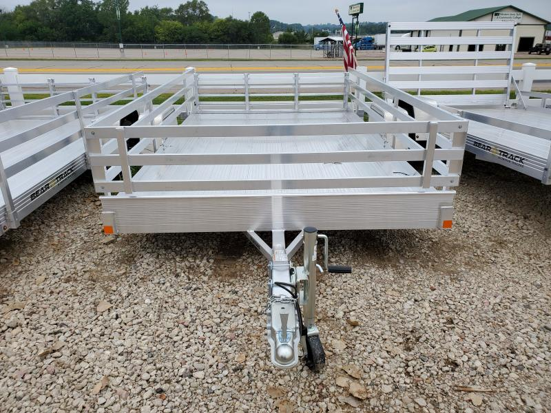 2021 Bear Track 82x12 Single Axle Aluminum Utility Trailer