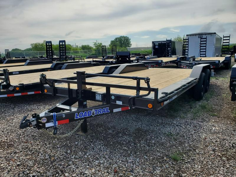 "2021 Load Trail 102""X20' TANDEM AXLE Equipment Trailer"