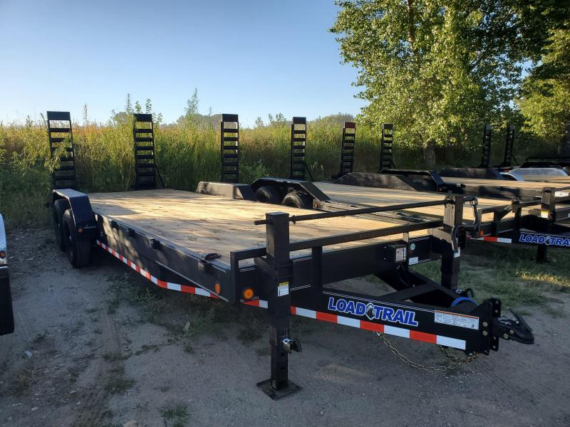 2021 Load Trail 83x24 Tandem Axle Carhauler Equipment Trailer