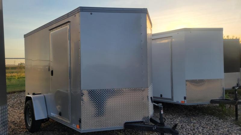 2022 United Trailers 6x10 Single Axle Enclosed Cargo Trailer