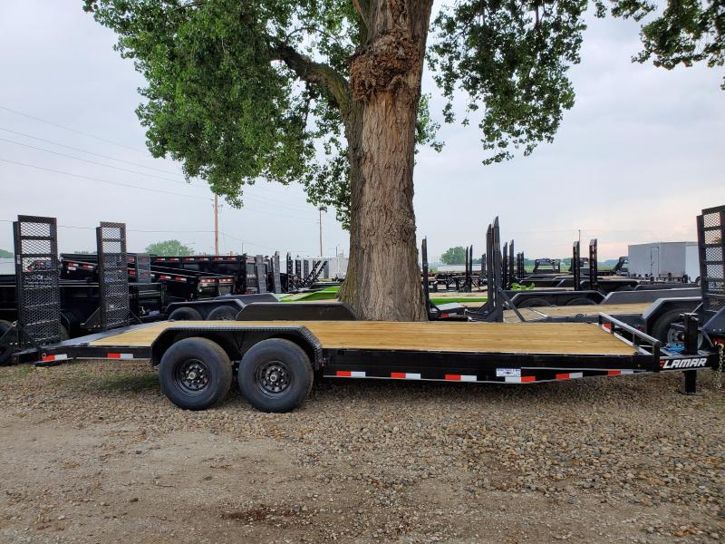 2020 Lamar Trailers 83x22 Tandem Axle Carhauler Equipment Trailer