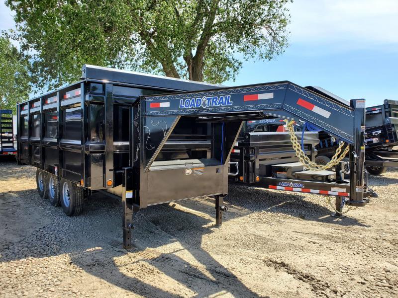2020 Load Trail 96x16 Triple Axle Gooseneck Dump Trailer