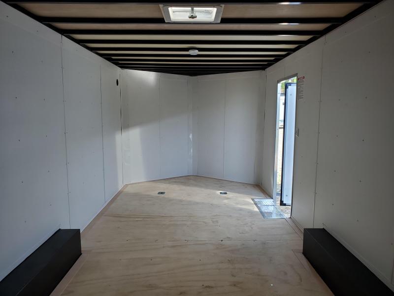 2022 United Trailers 8.5x20 Tandem Axle Enclosed Cargo Trailer