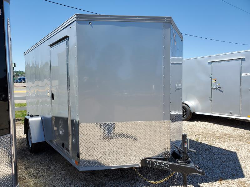 2020 United Trailers 7x12 Single Axle Enclosed Cargo Trailer