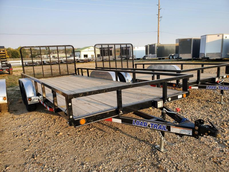 "2020 Load Trail 83"" X 18' TANDEM AXLE Utility Trailer"