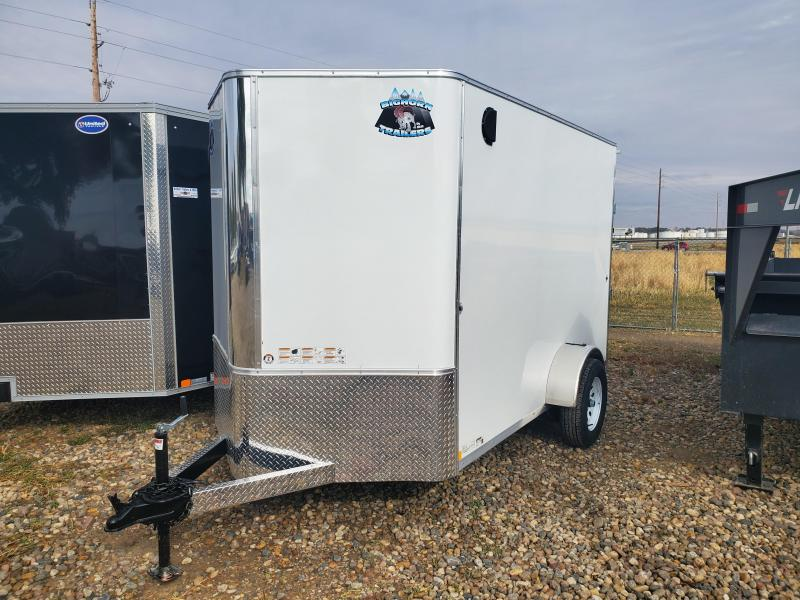 2021 Bighorn 6x10 Enclosed Cargo Trailer