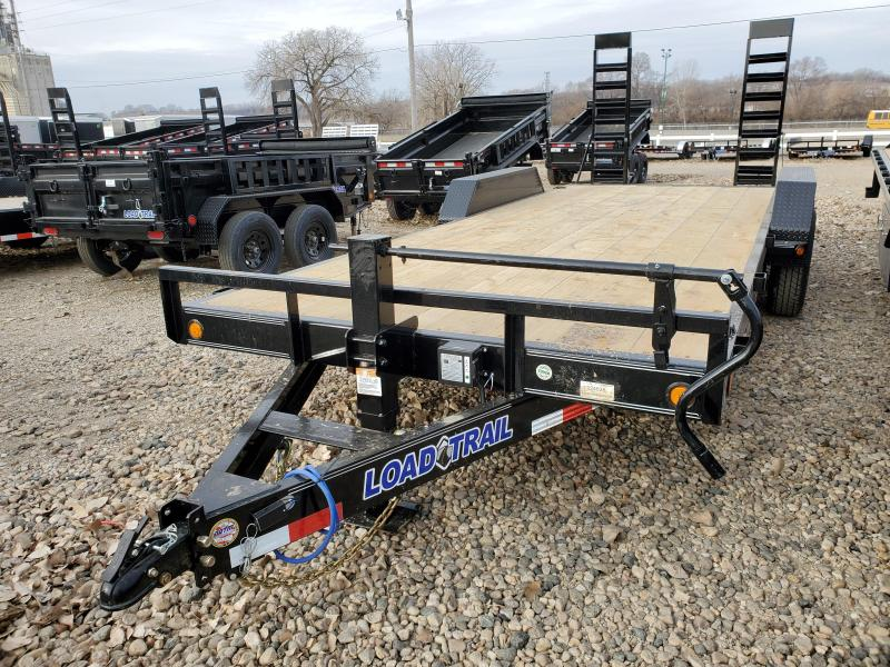 "2021 Load Trail 83""x20' Tandem Axle Equipment Trailer"