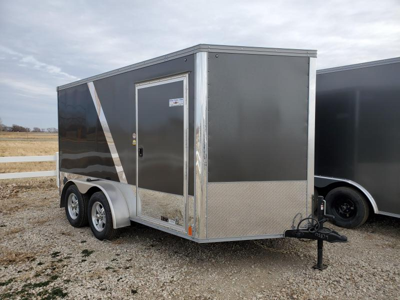 2021 United Trailers 7X12 TANDEM AXLE Enclosed Cargo Trailer