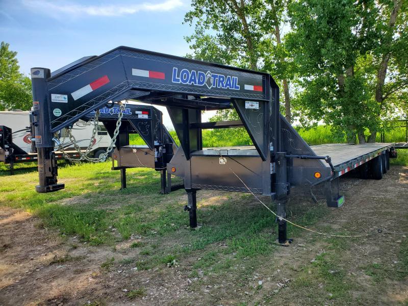 "2021 Load Trail 102""X32' TANDEM LOW PRO GOOSENECK Equipment Trailer"