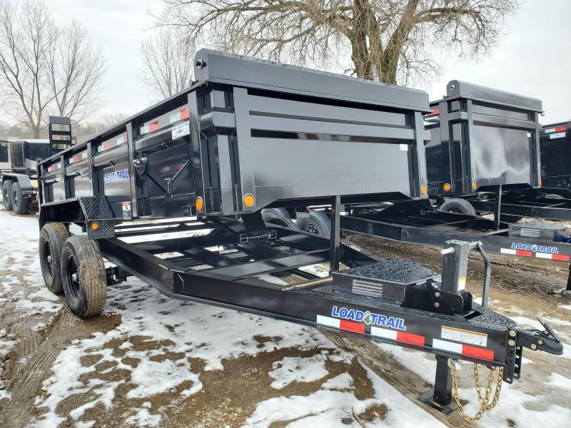 "2021 Load Trail 83""x14' Tandem Axel Dump Trailer"