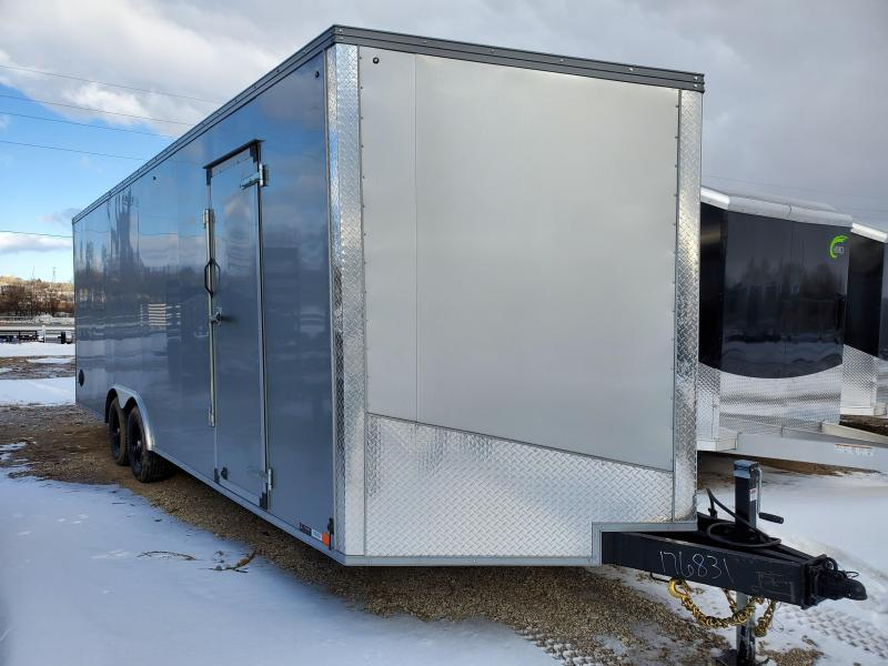 2021 United Trailers 8.5x24 Tandem Axle Enclosed Cargo Trailer