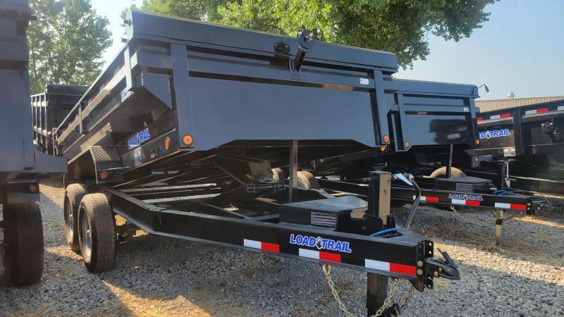 """2022 Load Trail 83""""X12' TANDEM AXLE Dump Trailer"""