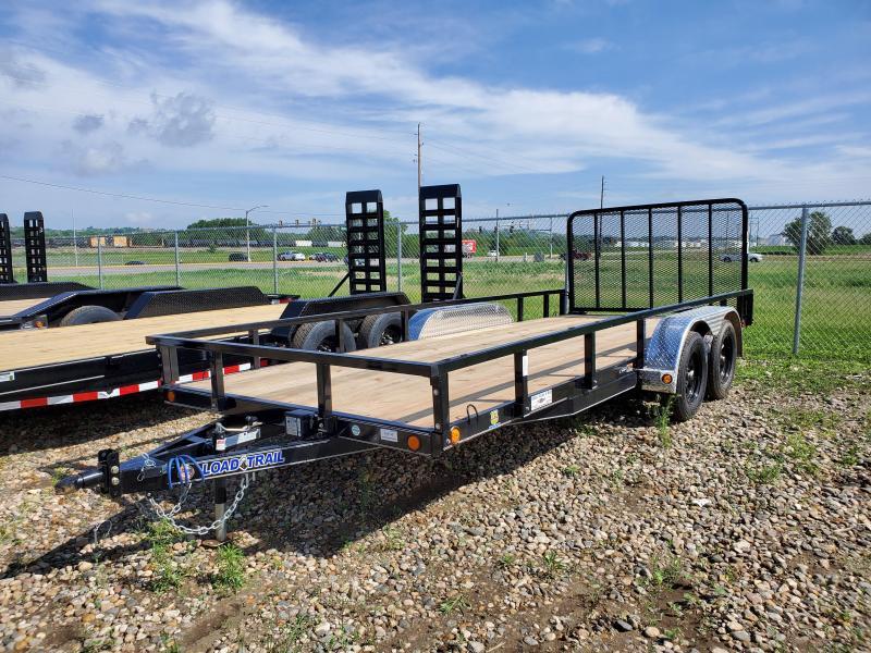 "2021 Load Trail 83""X18' TANDEM AXLE Utility Trailer"