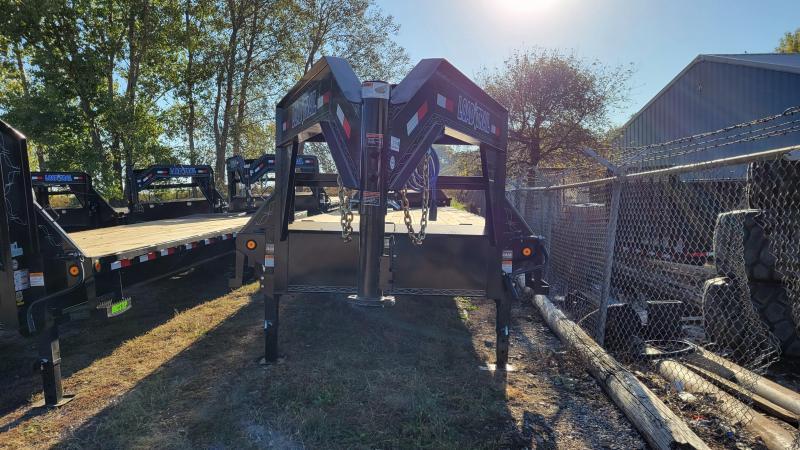 2022 Load Trail 102x30 Heavy Duty Gooseneck Flatbed Trailer