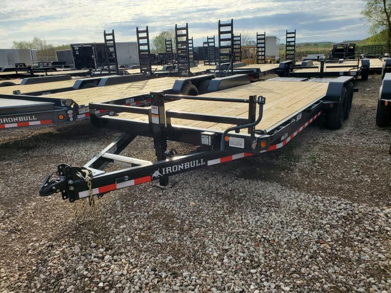 2021 Norstar Ironbull 83x22 Tandem Axle Equipment Trailer