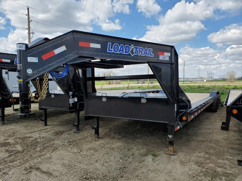 2020 Load Trail 102x32 Tandem Axle Gooseneck Carhauler Equipment Trailer