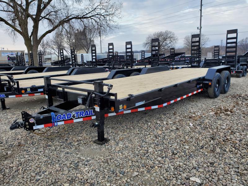 "2021 Load Trail 83""x24' Tandem Axle Equipment Trailer"