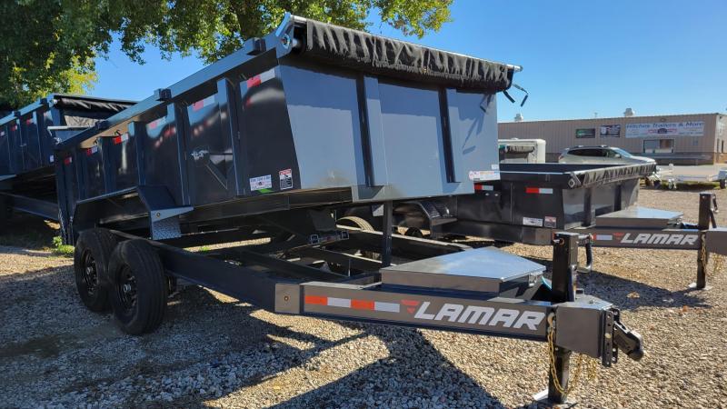 2021 Lamar Trailers 83x14 Low Pro Dump Trailer