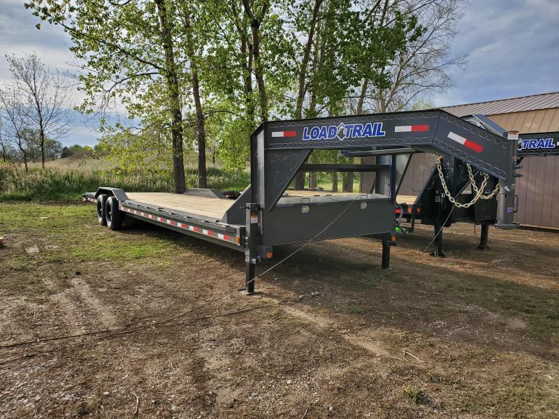 2021 Load Trail 102x32 Tandem Axle Gooseneck Carhauler Equipment Trailer