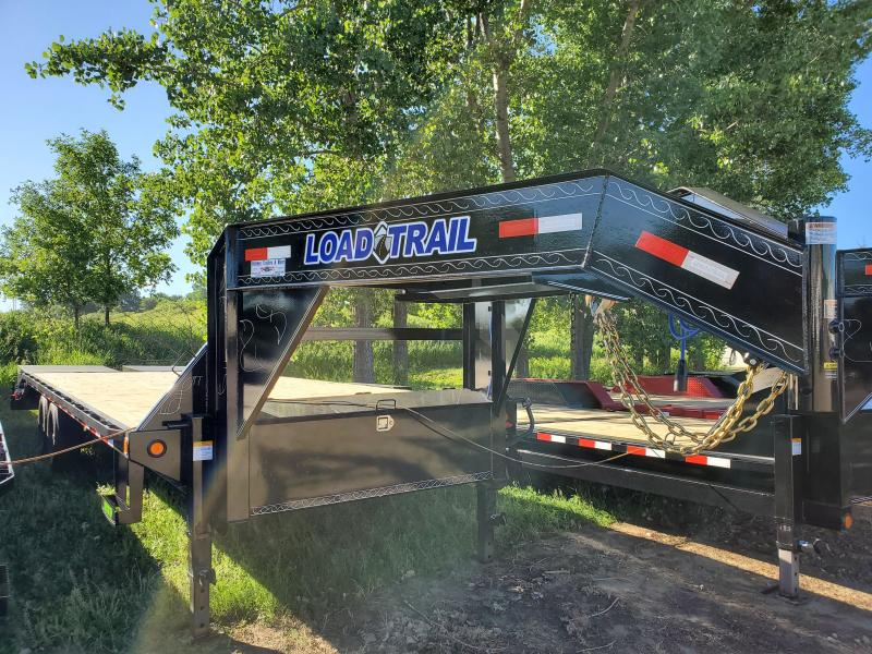 2020 Load Trail 102x25 Tandem Axle Gooseneck Flatbed Trailer