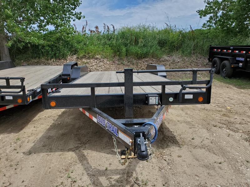 2020 Load Trail 83x20 Tandem Axle Carhauler Equipment Trailer