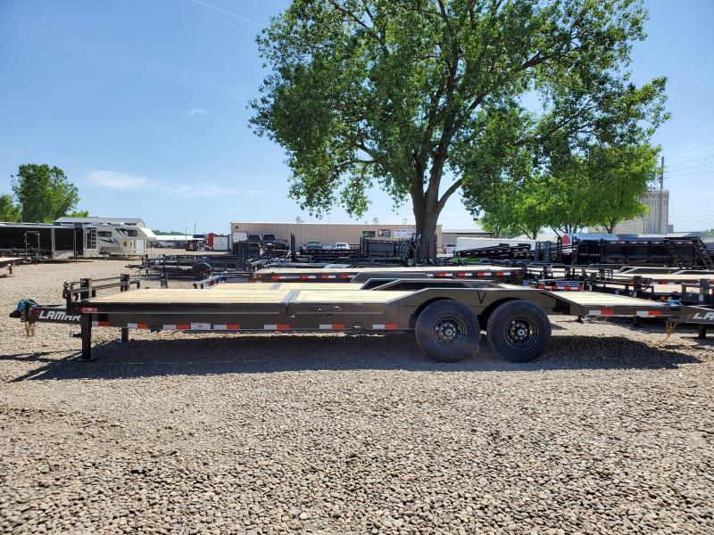 2020 Lamar Trailers 102x24 Tandem Axle Tilt Deck Equipment Trailer