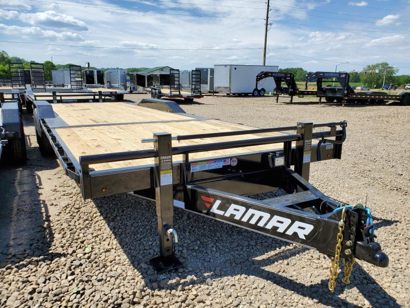 2020 Lamar Trailers 102x24 Tandem Axle Tilt Deck Equipment Trailer