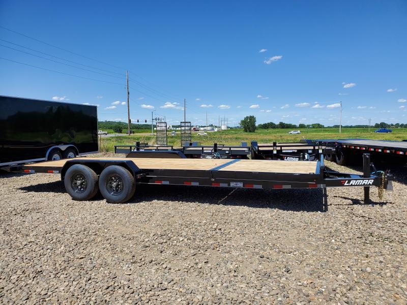2020 Lamar Trailers 83x22 Tandem Axle Tilt Deck Equipment Trailer